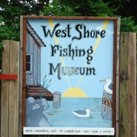 West Shore Fishing Museum Welcome Sign