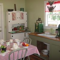 Kitchen of the Bailey Home