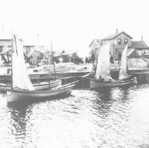 Two Rivers' Mackinaw Bat fishing fleet (Algoma, Wisc)